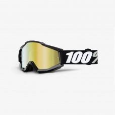 100% Accuri Tornado - Mirror Gold Lens