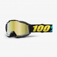 100% Accuri Virgo - Mirror Gold Lens