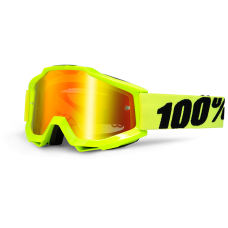100% Accuri Fluo Yellow- Mirror Red Lens