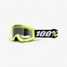 100% Strata Mini Yellow - Clear Lens