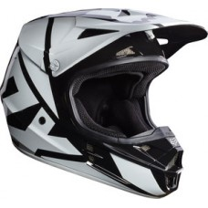 Fox V1 SALE Helmet Race Black