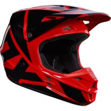 Fox V1 SALE Helmet Race Red