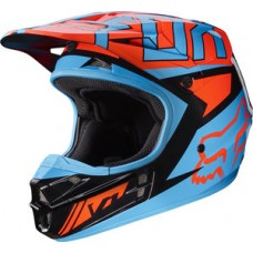 Fox V1 SALE Falcon Helmet Black/Orange