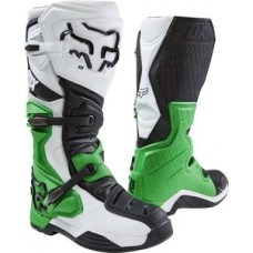 Fox Comp 8 SALE LE Monster Pro Circuit Boot White/Black/Green