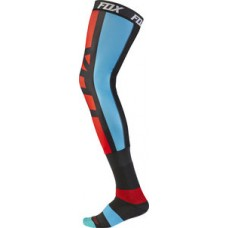 Fox Seca Proforma Knee Brace Socks Grey/Red