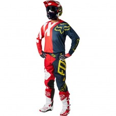 Fox Sale 360 Preme MX Motocross Jeans/Shirt Navy/Red