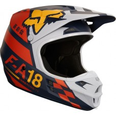 Fox 2018 V1 Sayak Helmet Orange