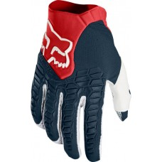 Fox 2018 Pawtector Gloves Navy/Red