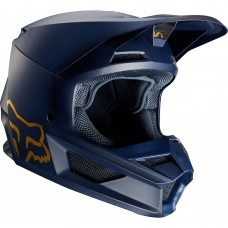 Fox V1 MVRS Helmet Navy/Gold