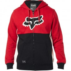 Fox 2020 Rebound Sherpa Faux Fur Lined Super Warm Hoodie Black/Red SALE SAVE £20