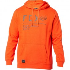 Fox 2020 Non Stop Pullover Hoodie Atomic Orange SALE SAVE £12