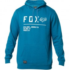 Fox 2020 Non Stop Pullover Hoodie Atomic Maui Blue SALE SAVE £12