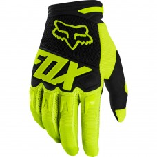 Fox 2020 Dirtpaw Gloves Flo Yellow