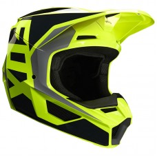 Fox 2020 Youth V1 MVRS Prix Helmet Black/Yellow