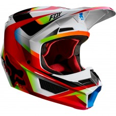 Fox V1 MVRS Motif Helmet Red