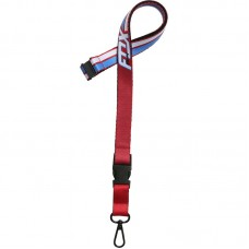 Fox Flection Lanyard Dark Red