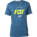 Fox Looped Out SS Tee HTR M BLU