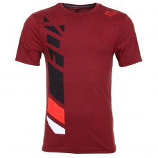 Fox Side Seca S/S Tech Tee Heather Red