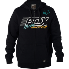 Fox Flection Zip Fleece Black Hoodie