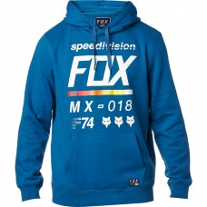 Fox Racing District 2 Pullover Hoodie Blue