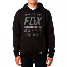 Fox Racing District 2 Pullover Hoodie Black