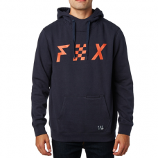 Fox District 1 Pullover Hoodie Midnight Blue SALE SAVE £35