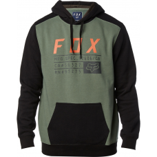 Fox Racing District 3 Pullover Fleece Dark Fatigue