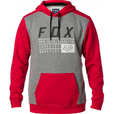 Fox Racing District 3 Pullover Fleece Dark Red
