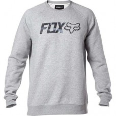 Fox Legacy Crew Fleece Heather Grey