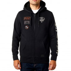 Fox Rostrum Sherpa Zip Hoodie Black