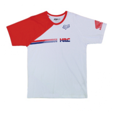 Fox HRC SALE Tee Shirt White/Red