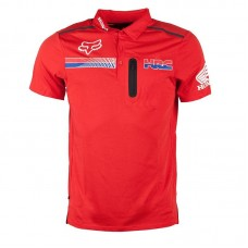 Fox Pit HRC Tech SS Polo Red