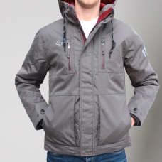 Fox Roosted Jacket Adult Charcoal