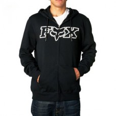 Fox Legacy FHead Zip front fleece hoody Black SALE