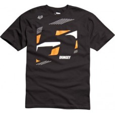 SALE 50% OFF Fox Dungey 5 Tee Shirt Black