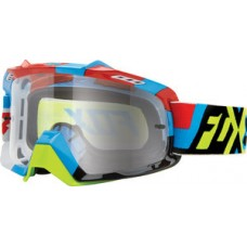 Fox Airspace Divizion Goggles Yellow/Blue