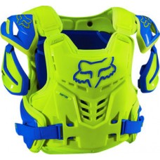 Fox Raptor Proframe Body Armour Blue/Yellow