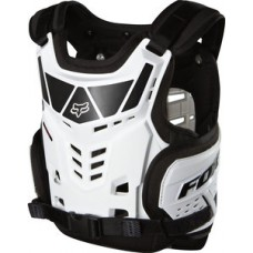 Fox Raptor Proframe  Kids/Youth Body Armour White