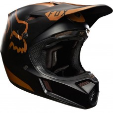 Fox V3 Moth Copper Helmet LE