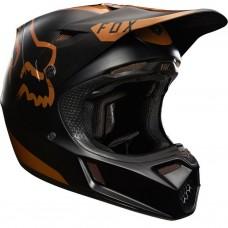 Fox V3 Moth Copper Helmet LE