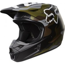 Fox 2018 V1 Helmet LE Camo Green