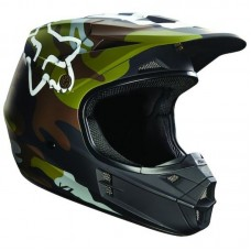 Fox 2018 V1 Helmet LE Camo Green