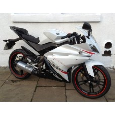 Yamaha YZFR125 Sports White