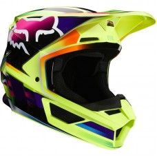 Fox 2020 V1 MVRS Gama Helmet Yellow SALE