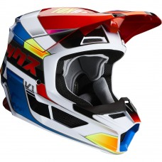 Fox 2020 V1 MVRS Yorr Helmet Blue/Red SALE