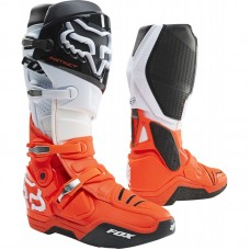 2021 Fox Instinct Boot Black/White/Orange