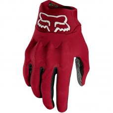 Fox Bomber Gloves Dark Red